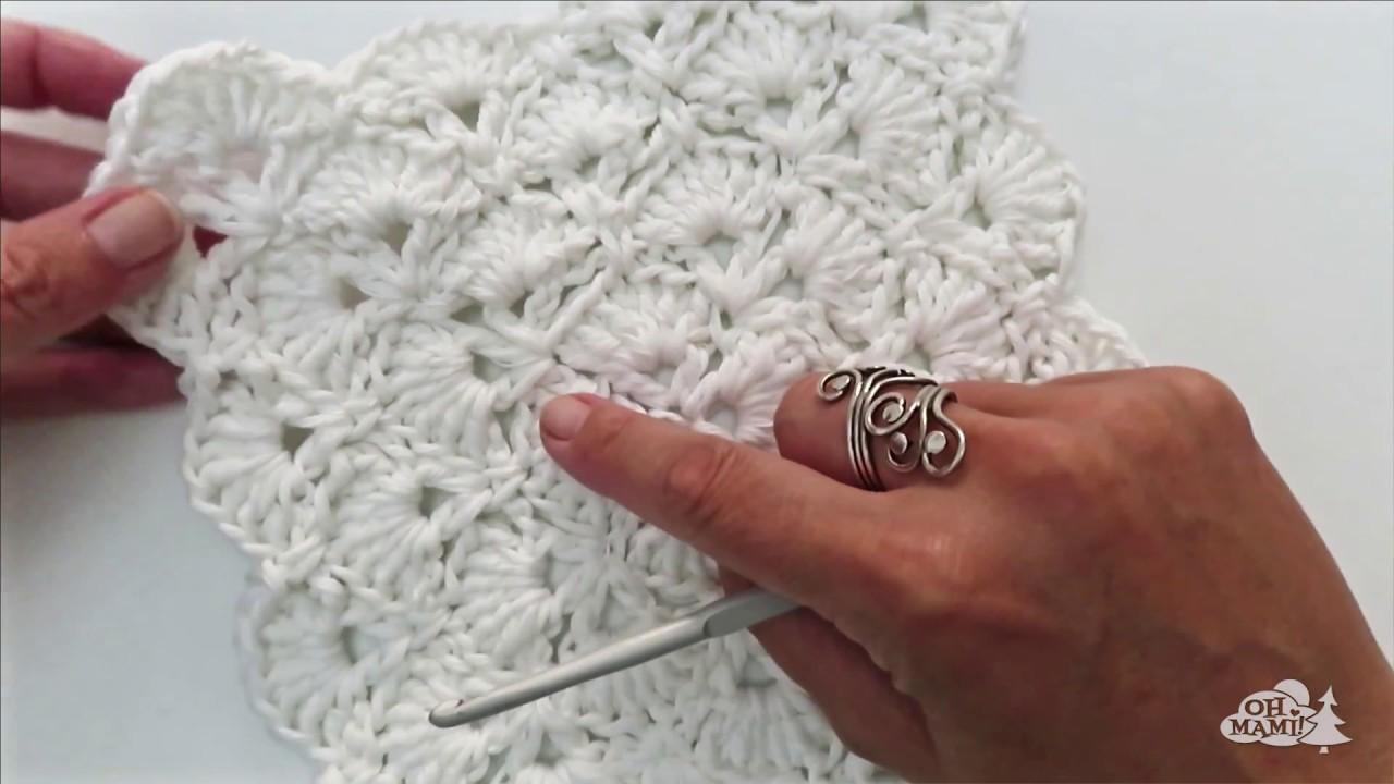 Lujoso Granny Patrón De Crochet Chal Cuadrado Colección de Imágenes ...