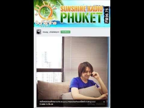 56 07 09 Ruj @ Sunshine Radio Phuket 96.75