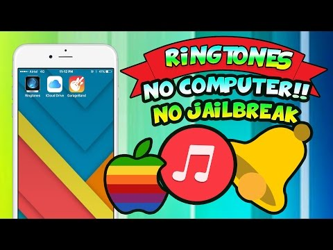 Get Ringtones on iPhone FREE (NO COMPUTER) (NO JAILBREAK) iPhone 6, iPhone 7, Etc. : iOS 9 & iOS10