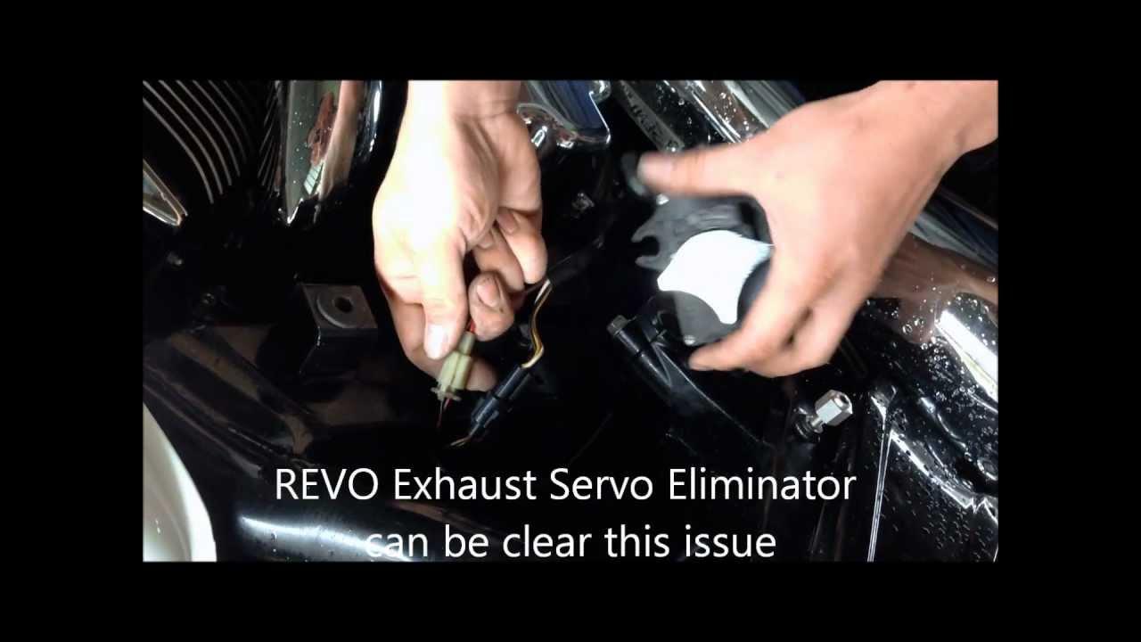 REVO Exhaust Servo Eliminator
