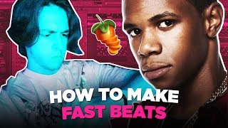 HOW TO MAKE FAST BEATS IN FL STUDIO 2019 | FL Studio Tutorial 🔥