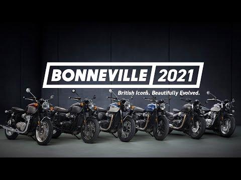 Bonneville 2021 | British Icons. Beautifully Evolved