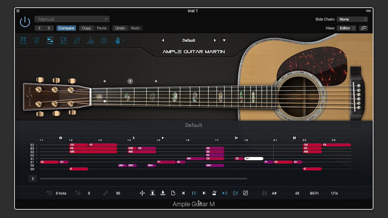 World Best Acoustic Guitar Sample Library Ample Guitar Martin Youtube