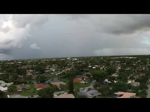Storms over Coral Springs, FL