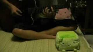 灼眼のシャナ1期OPの「緋色の空」をソロギターでアレンジして弾いてみ...