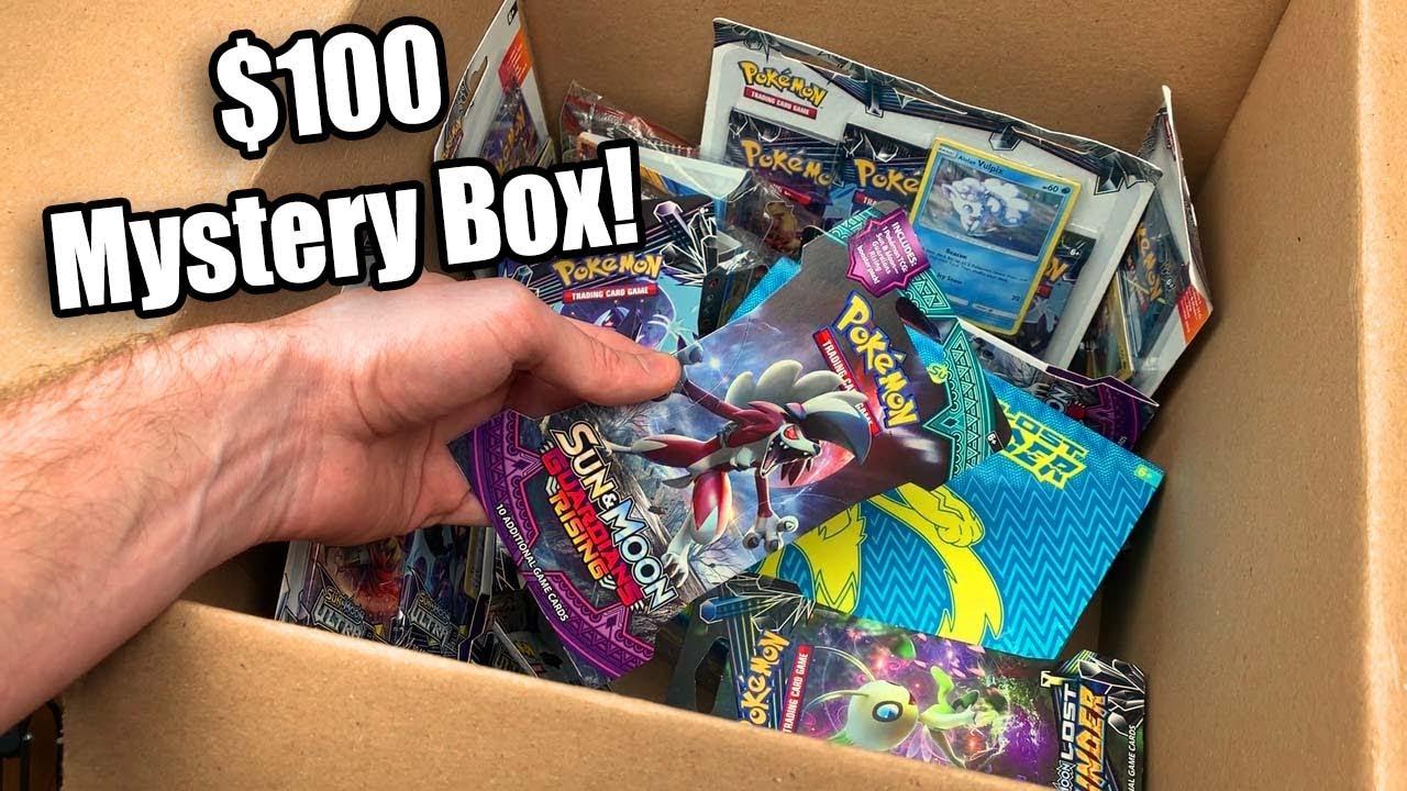 UNBOXING A MYSTERY BOX WITH POKEMON CARDS YOU'VE NEVER ... |Pokemon Mystery Box