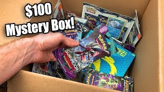 I made a HUGE $100 CUSTOM POKEMON CARDS MYSTERY BOX for a Opening!