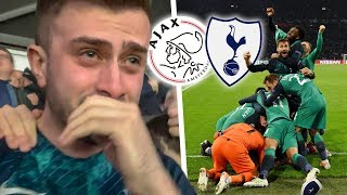 WE ARE GOING TO THE CHAMPIONS LEAGUE FINAL!! - AJAX vs TOTTENHAM (2-3) Matchday Vlog