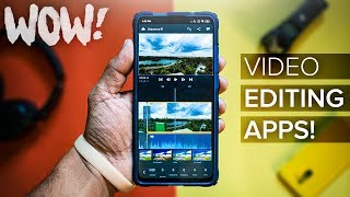 Top 3 PROFESSIONAL Video Editing Apps 2019! (4K)