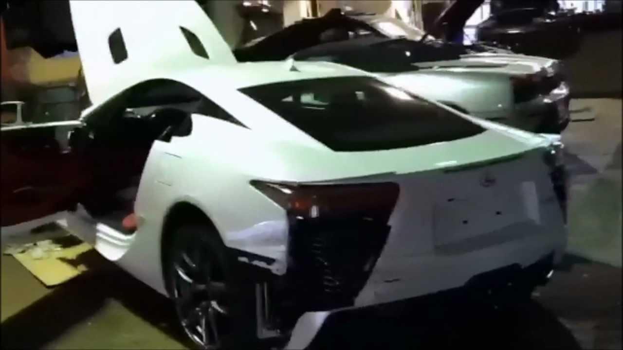 Lexus Lfa Crash First Privately Owned Youtube