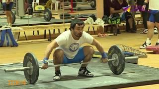 Сборная России по тяжёлой атлетике готовится к Чемпионату