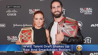WWE Talent Draft Shakes Up RAW And SmackDown