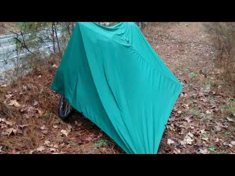 how to build a teepee with a tarp
