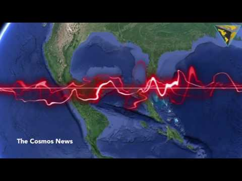 Strange Sounds Coming from the Caribbean Sea Can Be Heard in Space