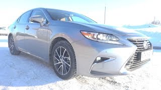 2018 Lexus Es250 (Asv60). Start Up, Engine, And In Depth Tour.
