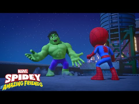 Download 🤝 A Helping Hulk | Marvel's Spidey and His Amazing Friends | Disney Junior UK