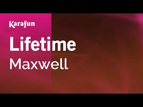 Karaoke Lifetime - Maxwell *