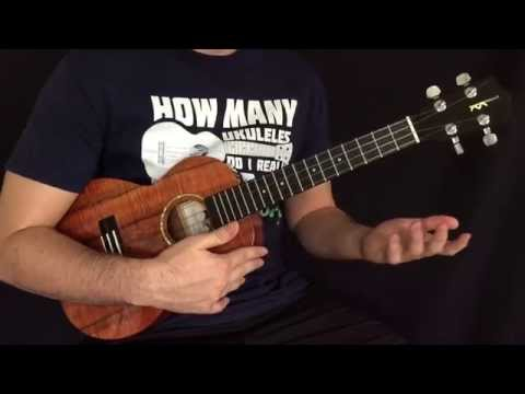 Sweet Child O' Mine Ukulele Instrumental Tutorial