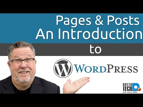 An Introduction to Wordpress