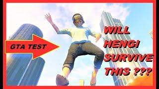 GTA 5 Online test series / experiments  , Will HENGI survive THIS ??? episode 1