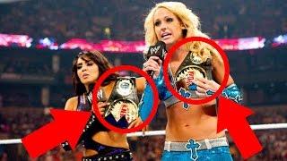 10 WORST WWE Title Belt Designs