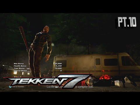 TEKKEN 7 (PART10) ( Heres Negan! ) |Negan Online Matches| |