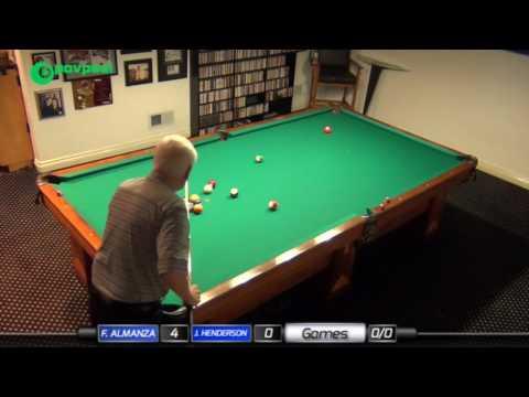 #4a • John HENDERSON vs Frank ALMANZA • James Boch's One Pocket Challenge