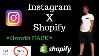 How To Grow Your Shopify Stores Instagram (Growth Hack)
