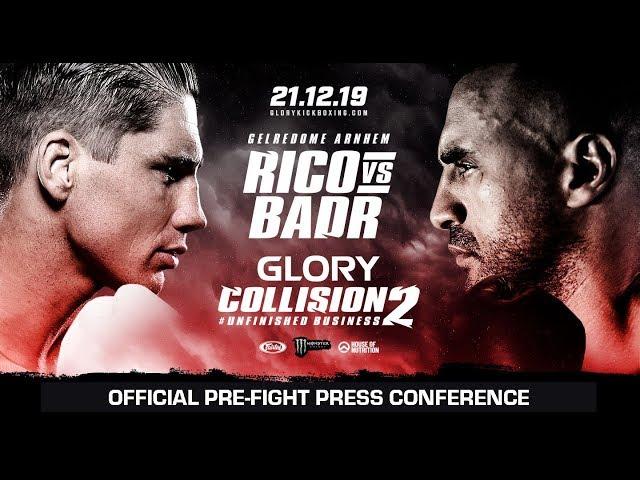 Collision Ii Official Pre Fight Press Conference Vtomb