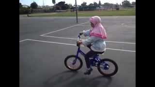Muslim Girls on Bicycles