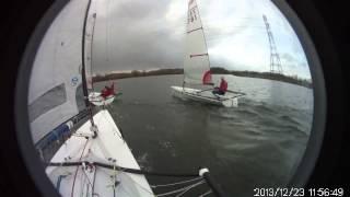 Five minutes of Blaze sailing 1