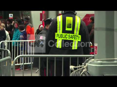 NY: EXTRA SECURITY IN PLACE FOR NYE IN TIMES SQUARE