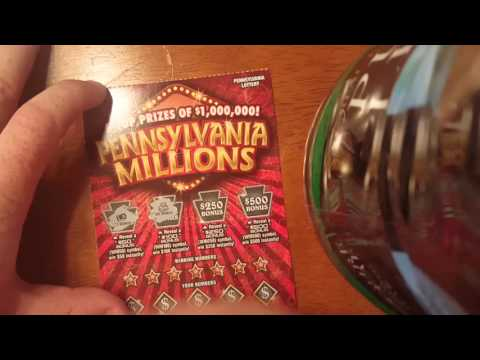 PA LOTTERY scratch off tickets! GUS BUCKS and a PA Millions! !
