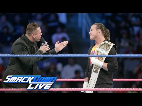 The Miz mourns the death of the Intercontinental Championship: SmackDown LIVE, Oct. 11, 2016