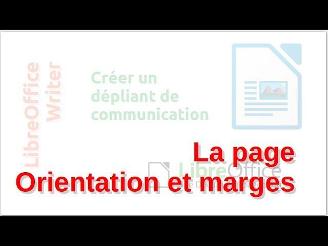 Un dépliant de communication avec LibreOffice Writer #3
