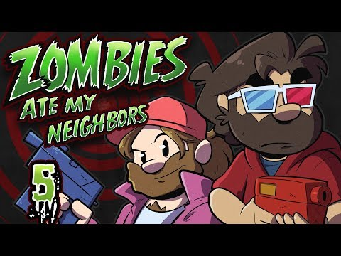 Zombies Ate My Neighbors Let's Play #5 - 28 Days Later