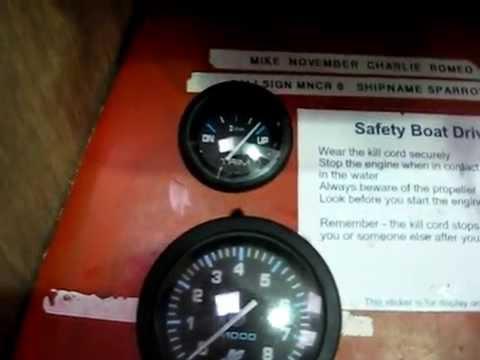 Powerboating Trim gauge YouTube