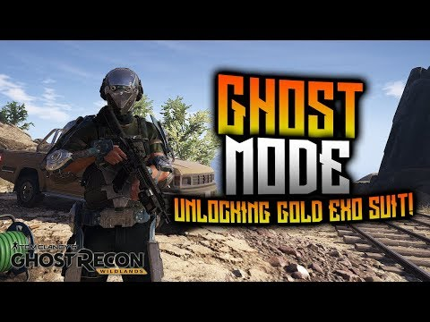 Ghost Recon Wildlands - Ghost Mode! Unlocking Gold Exo Suit! (Tier Mode)