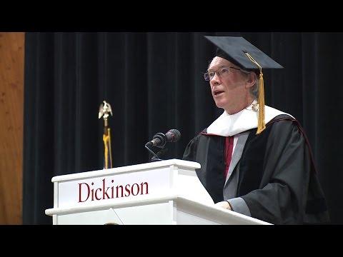 Ian McEwan 2015 Commencement Speech at Dickinson College