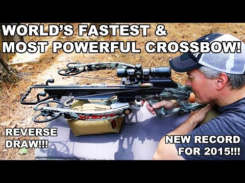 World's Fastest & Most Powerful Crossbow! Scorpyd Ventilator Extreme