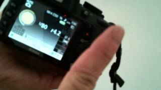 nikon d3100 d 3100 live view not working problem fix for switch