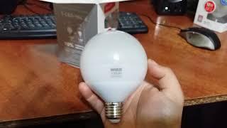 Светодиодная лампа Maxus G95 15W (1500lm) 4100K 220V E27 (1-LED-904)