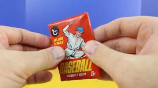 Topps Wax Pack 1967 opening pack break