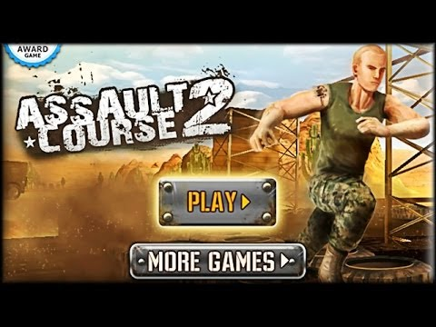 Assault Course 2 - Game Walkthrough (all 1-5 lvl)