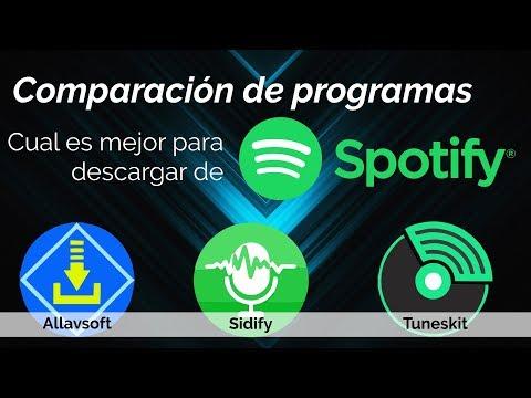Cuál es el mejor programa para descargar de Spotify? Comparaciones