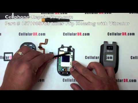 AT&T Motorola Tundra VA76r LCD Flip Repair Video Disassembly Take Apart Instructions