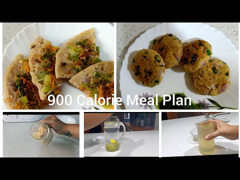 How To Lose Weight Fast 10KG in 10DAYS | 900 Calorie Diet Plan | Without Exercise