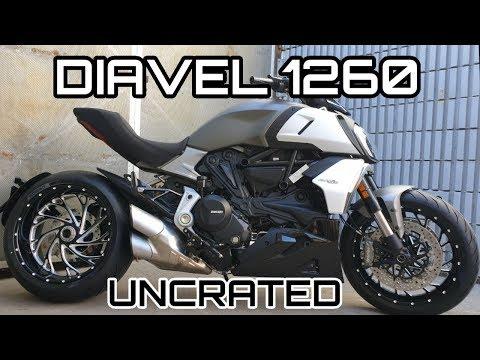 Diavel 1260 DVT DP Wheels And Basic Dash Instructions