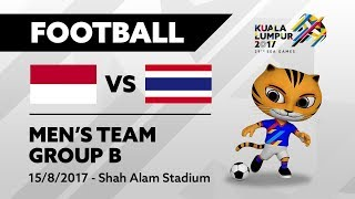 KL2017 29th SEA Games | Football - INA 🇮🇩 vs THA 🇹🇭