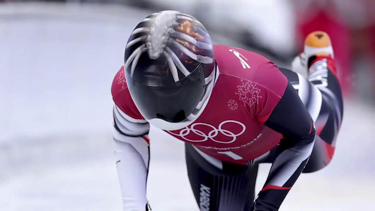 Canada's Olympic Skeleton racers share stories behind helmet artwork #1